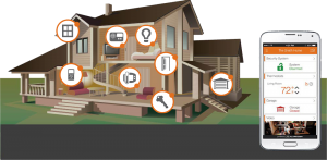 Home Automation icon graphic